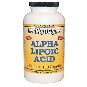 Alpha Lipoic Acid 300 mg (150 Capsules) - Origines saines