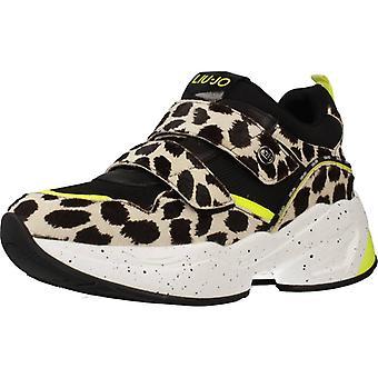 Liu-Jo sport/JOG Shoes 09 kleur Blkwhite