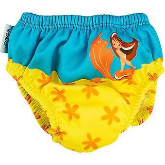 FINIS Mermaid Reusable Swim Diaper - Starfish