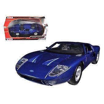 Ford Gt Blue 1/24 Diecast Modèle de voiture par Motormax