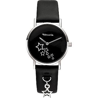 Tamaris - Wristwatch - Bente - DAU 34mm - Silver - Women - TW079 - silver black