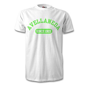 Racing Club 1903 perustettu Football t-paita