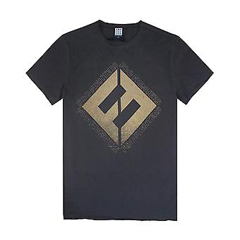 Versterkte Foo Fighters concrete en gouden mens T-shirt