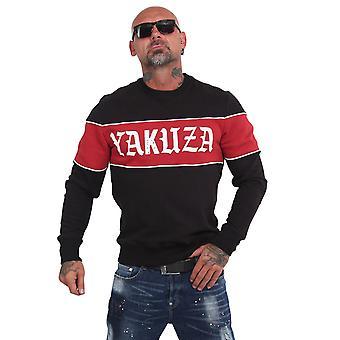YAKUZA Men's Sweatshirt Retro Stripe Crew