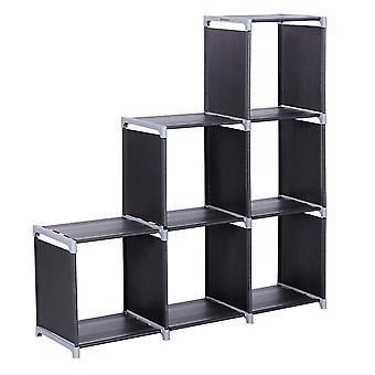 Black Cube Gehäuse aus Metall/Stoff