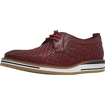 Angel Infantes Zapatos De Vestir 04054a Color Rosso