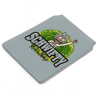 Rick And Morty Card Holder Schwifty