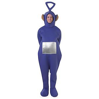 Teletubbies Tinky Winky Purple Adult TV Women Men Costume STD