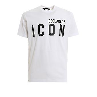 Dsquared2 S79gc0001s23009100 Miehet's Valkoinen Puuvilla T-paita