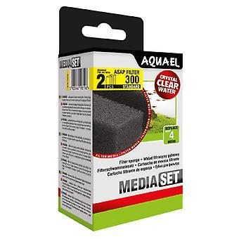 Aquael Recambio Esponja Filtro Asap-300 (2 Uni)