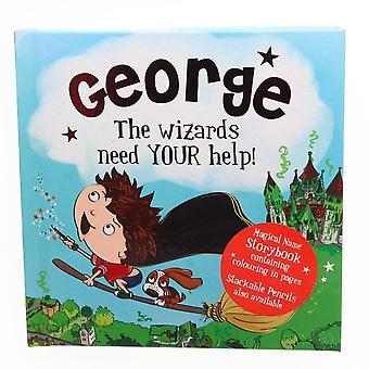 History & Heraldry Magical Name Storybook - George