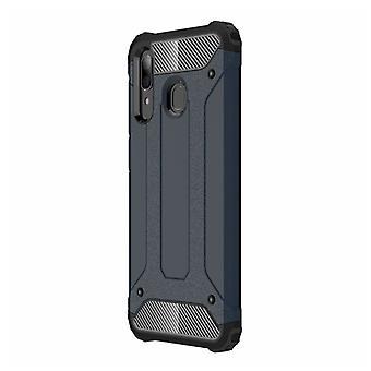 Saker certifierade® Samsung Galaxy S7 - Armor Case Cover Cas TPU Mål Rosa