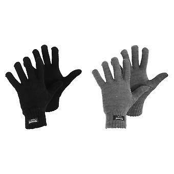 Womens/damer Thinsulate Thermal Stickade vinterhandskar
