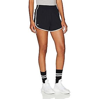 Starter Women's Stretch Running Short,  Exclusive, Black/White, Extra S...