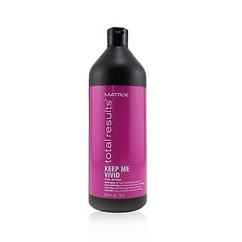 Matrix Total Results Keep Me Vivid Pearl Infusion Shampoo (For High-Maintenance Colours) 1000ml/33.8oz