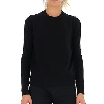 Theory J0118711001 Women's Black Cashmere Sweater