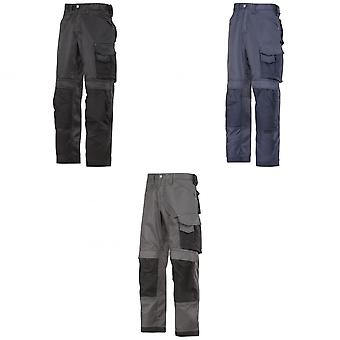 Snickers Mens DuraTwill Craftsmen Non Holster Trousers