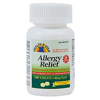 Gericare allergy relief, 4 mg, tablets, 100 ea