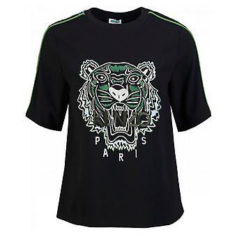 Kenzo Crepe Back Tiger T-Shirt