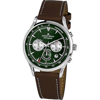 Jacques Lemans - Wristwatch - Men - Retro Classic - - 1-2068D