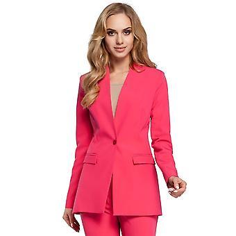 Pink moe jackets & coats
