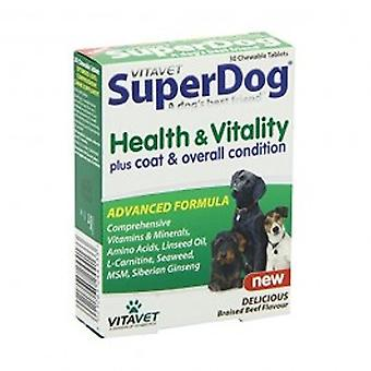 Vitavet - Superdog Health & Vitality Tablets 30s
