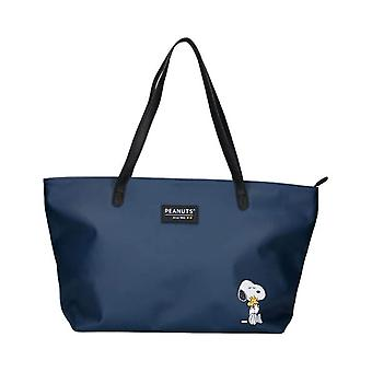 Peanuts Snoopy forever famoso bolso de compras grande