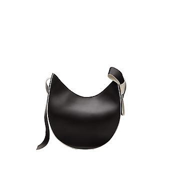 Red Valentino Tq2b0b99nea0mg Women's Black Leather Handbag