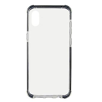 Mobiele cover Iphone Xs Max KSIX Flex Armor Transparant