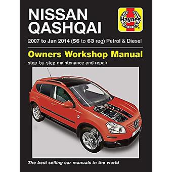 Nissan Qashqai ('07 to Jan '14) 56 to 63 - 9781785214370 Book