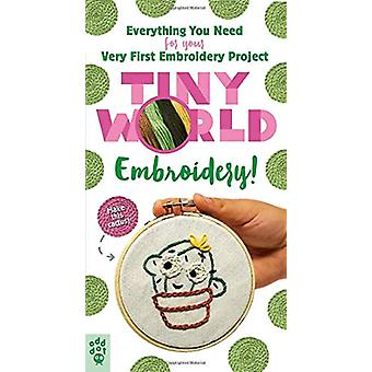 Tiny World - Embroidery! by El Patcha - 9781250203830 Book
