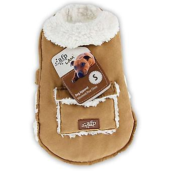 AFP Abrigo Lam  Punto Diamante L (Hunde , Kleidung , Mäntel und Kappen)