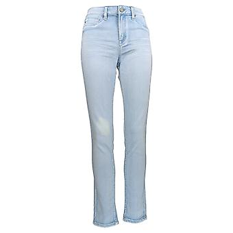 Laurie Felt Women's Jeans Silky Royal Skinny Zip-Front Blue A352580