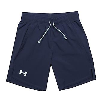 Boy's Under Armour Junior UA Woven Shorts in Blue