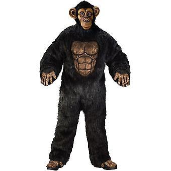 Costume adulto scimpanzè