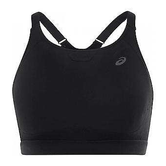 Asics Zero Distraction Womens Ladies Running Fitness Training Sports Bra Black