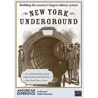 New York Underground [DVD] USA import
