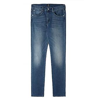 Edwin Blue Mission Wash ED-80 Red Listed Denim Slim Tapered Jean