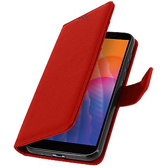 Huawei Y5p Folio Folio Case with Wallet Function - Red