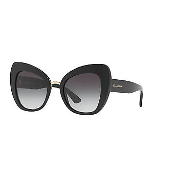 Dolce&Gabbana DG4319 501/8G Schwarz/Grau Gadient Sonnenbrille