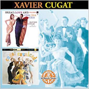 Xavier Cugat - bröd kärlek & Cha Cha Cha/Cugat [CD] USA import