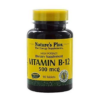Vitamin B12 90 tabletter af 500μg
