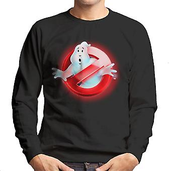 Ghostbusters Red No Ghost Logo Men's Sweatshirt