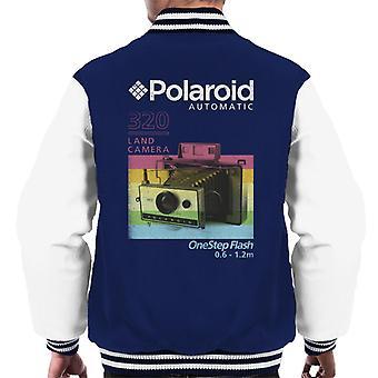 Polaroid 320 Land Camera Miehet&s Varsity Takki