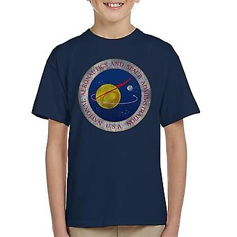 NASA Seal Insignia Distressed Kid's T-Shirt