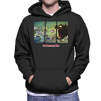 An American Tail Mott Street Maulers Men's Hooded Sweatshirt