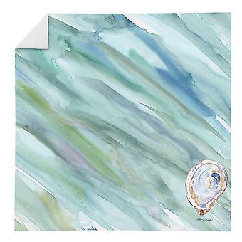 Carolines Treasures SC2049NAP Oyster #2 på Blue Servett
