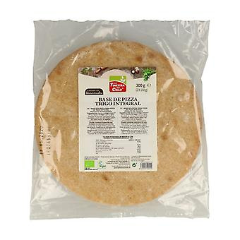 Whole Wheat Pizza Base Bio 2 units of 150g