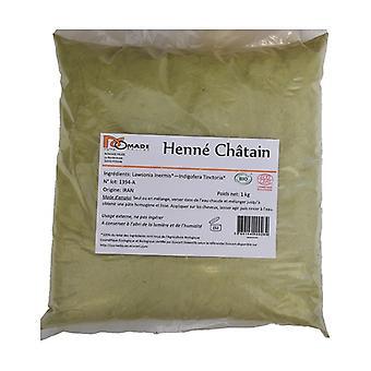 Organic Henna Chestnut 1 kg of powder (Brown)