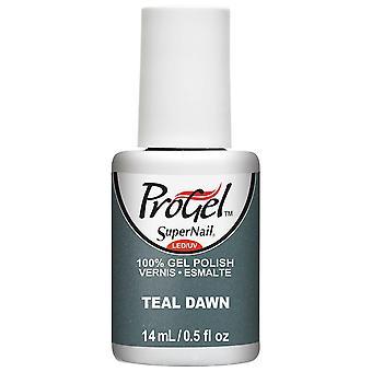 SuperNail ProGel Gel Vernis à ongles - Sarcelle Dawn 14ml